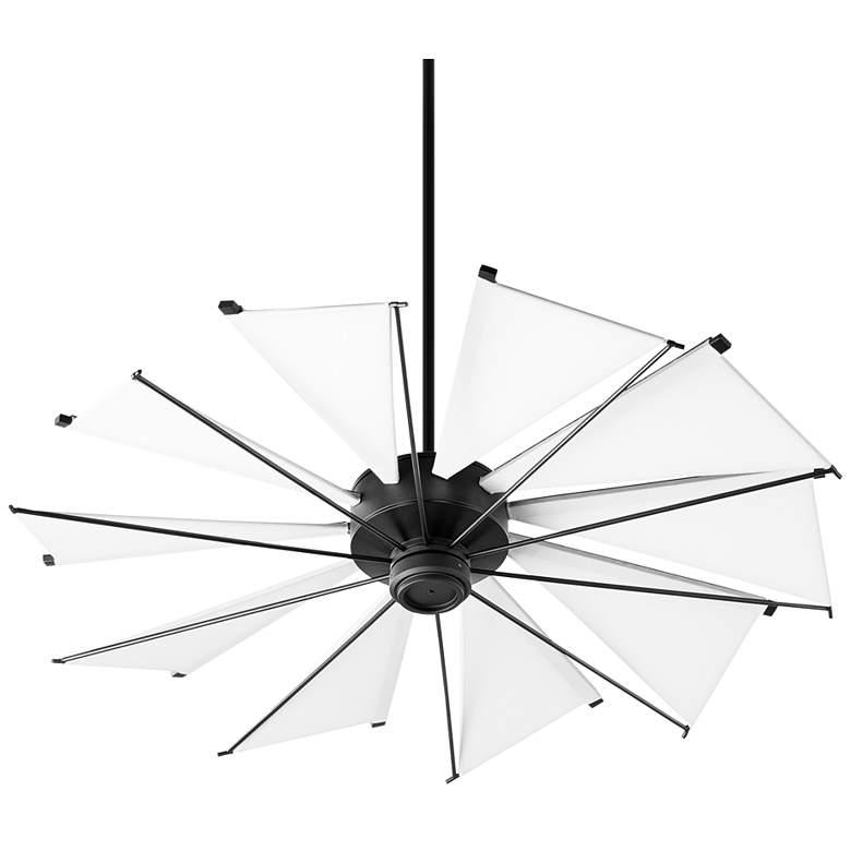 """52"""" Quorum Mykonos Noir Ceiling Fan"""