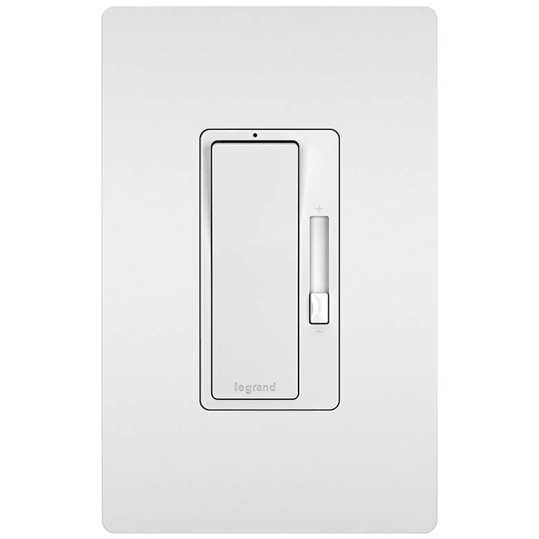 Legrand Radiant White Tru-Universal Dimmer with Faceplate