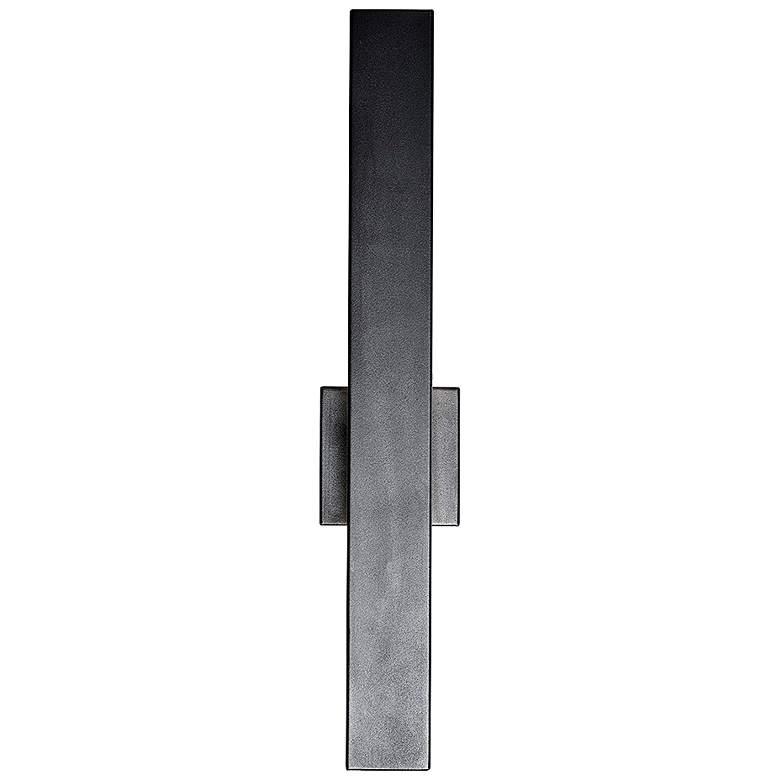 "Yoga 24"" High Coal Marine Grade Steel LED Outdoor Wall Light"