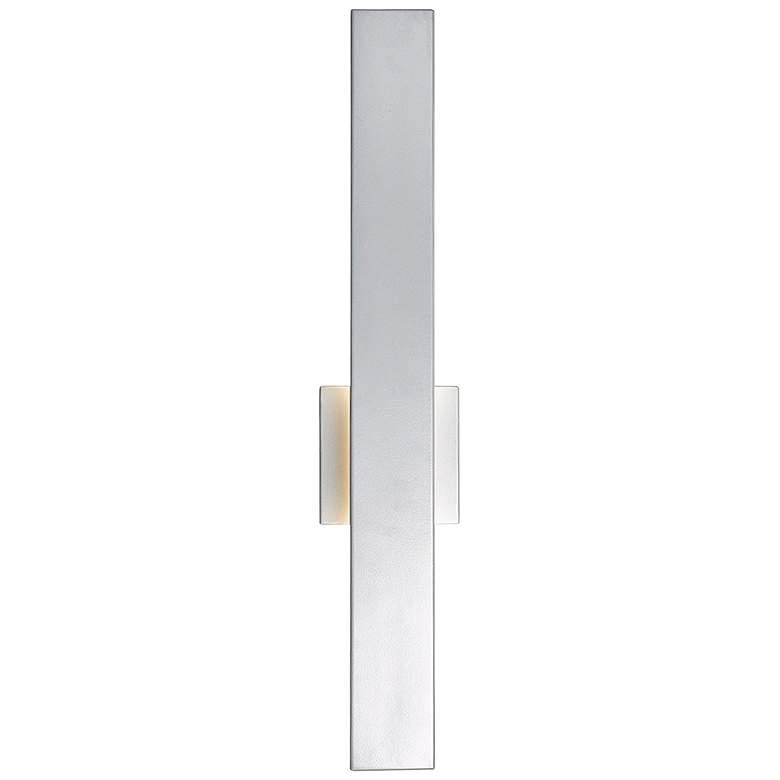 "Yoga 24""H Silica Marine Grade Steel LED Outdoor Wall Light"