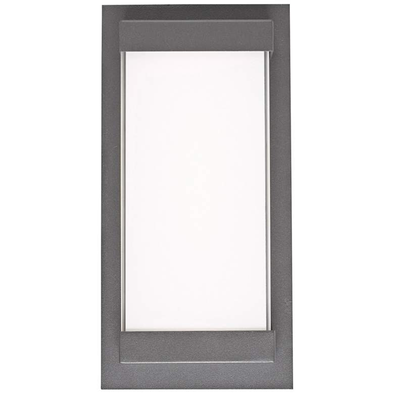 """Atom 12"""" High Coal Frosted Glass LED Outdoor"""