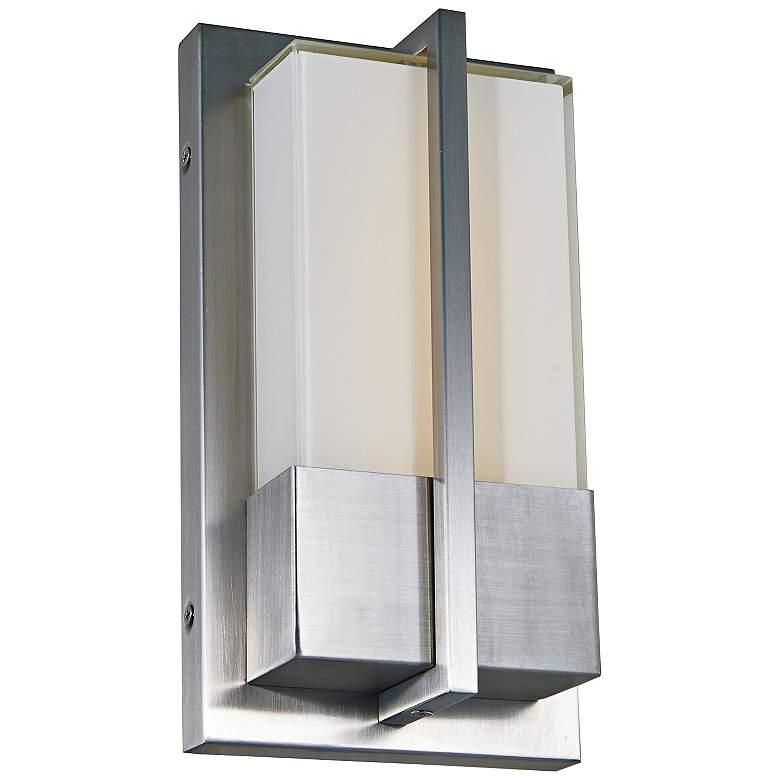 "Neutron 11"" High Stainless Steel LED Outdoor Wall Light"