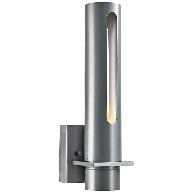"Beacon 16""H Silica Marine Grade Steel LED Outdoor Wall Light"