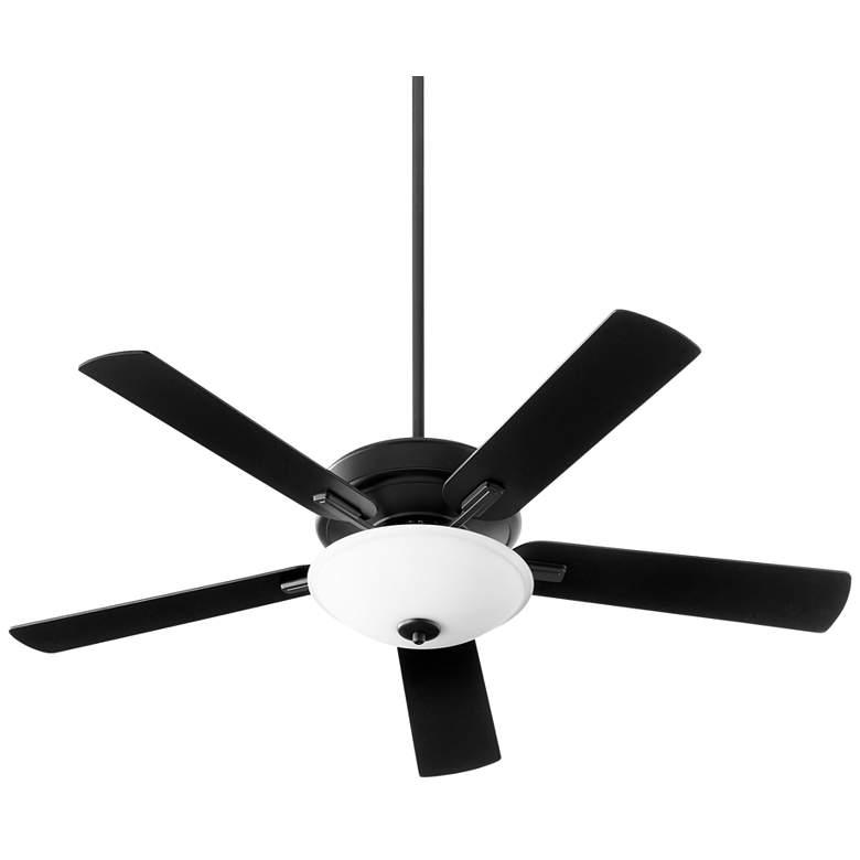 """52"""" Quorum Premier Noir LED Ceiling Fan"""