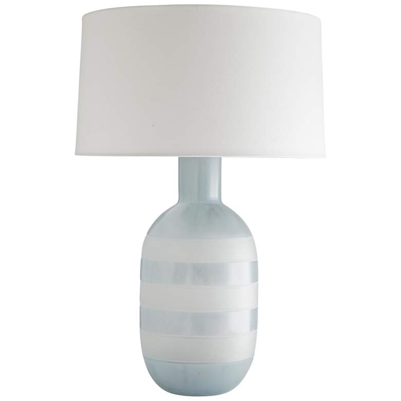 Arteriors Home Tosh Arctic and Frosted Glass Table Lamp