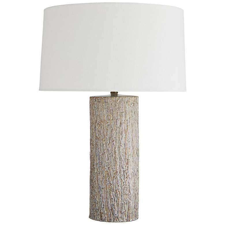 Arteriors Home Valpreso Frosted Sand Dune Ceramic Table Lamp