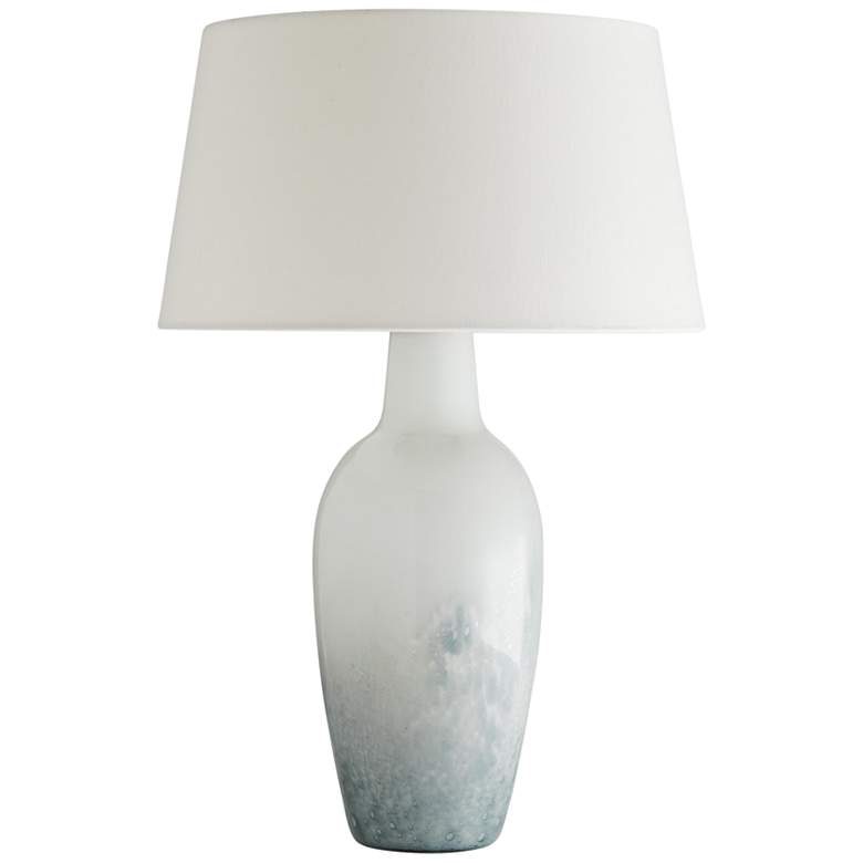 Arteriors Home Washburn Dovetail Gray Ombre Glass Table Lamp