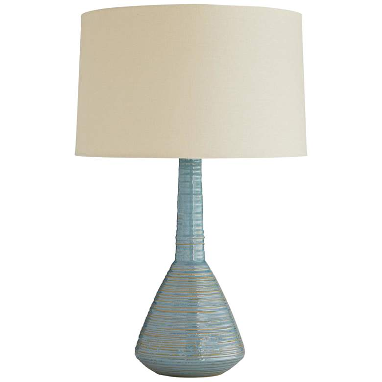 Arteriors Home Torrance Cerulean Haze Ceramic Table Lamp
