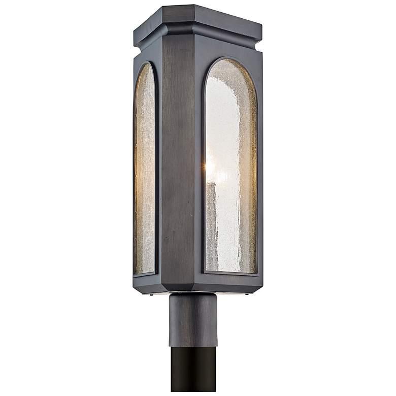 "Alton 21"" High Graphite Outdoor Post Light"