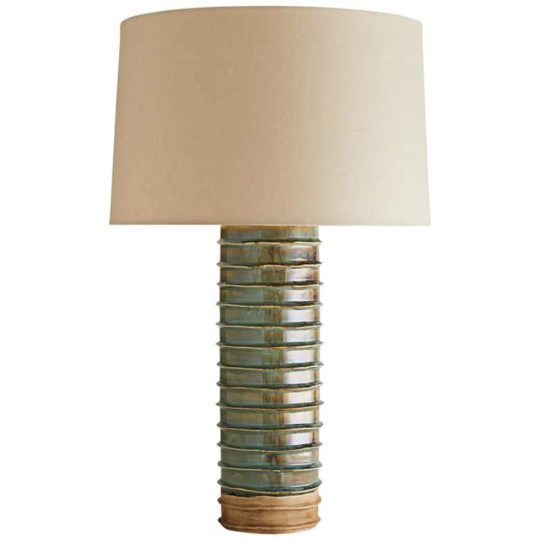 Arteriors Home Urbana Meadow Reactive Ceramic Table Lamp