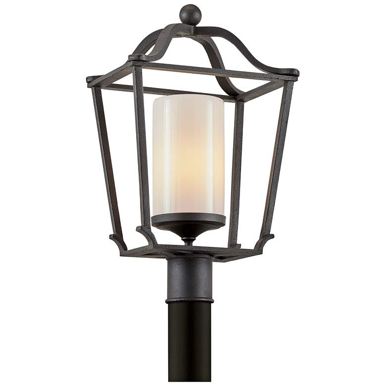 "Princeton 19 3/4"" High French Iron Outdoor Post Light"