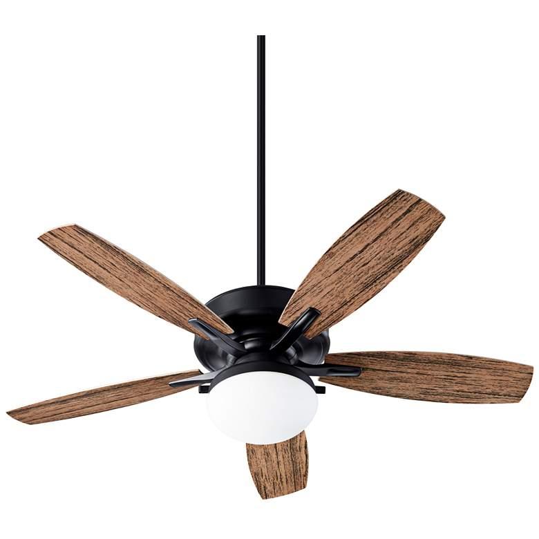 """52"""" Quorum Eden Noir LED Patio Ceiling Fan"""