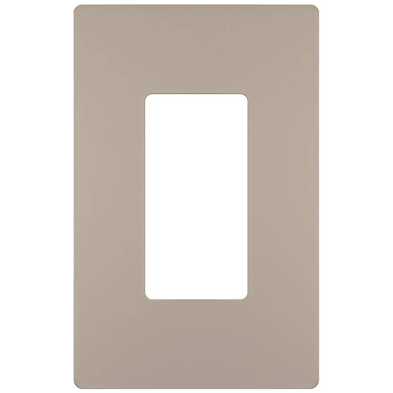 Legrand Radiant Nickel Screwless 1-Gang Wall Plate
