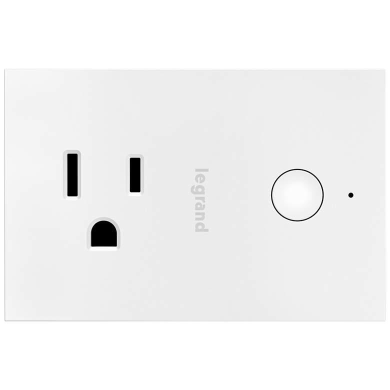 Legrand Smart Wi-Fi White Plug-In Switch