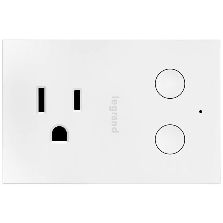 Legrand Smart Wi-Fi White Plug-In Dimmer