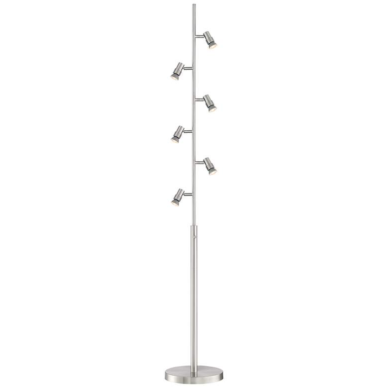Possini Euro Stride 6-Light Bullet Tree Floor Lamp