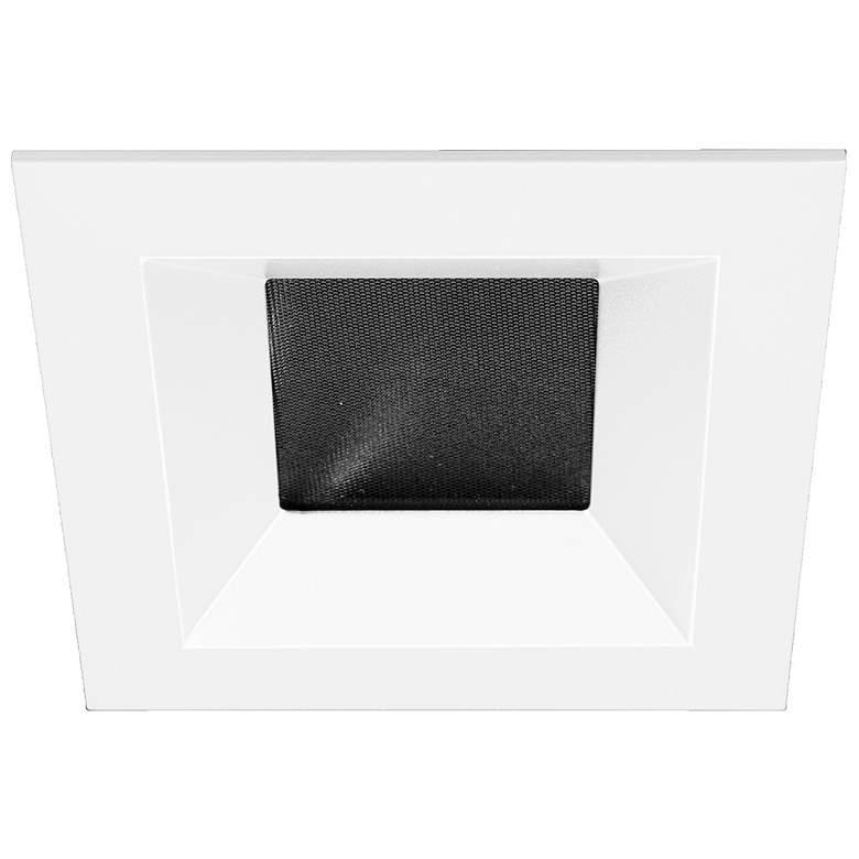 """Oculux Architectural 3 1/2"""" Square White Open Reflector Trim"""