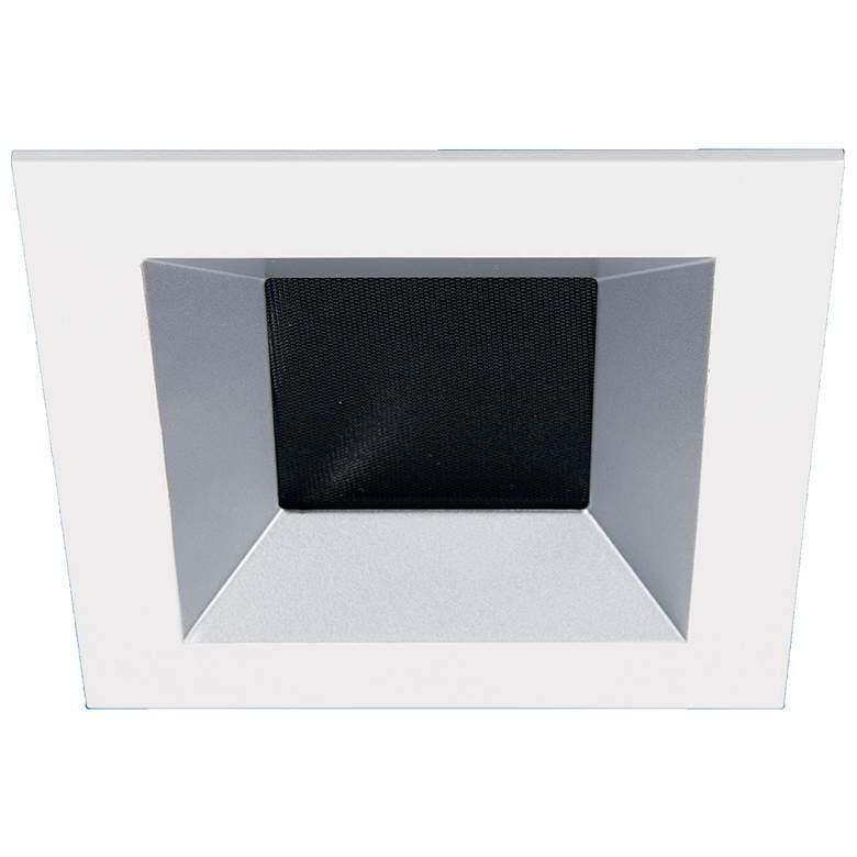 """Oculux Architectural 3 1/2"""" Square Haze White Reflector Trim"""