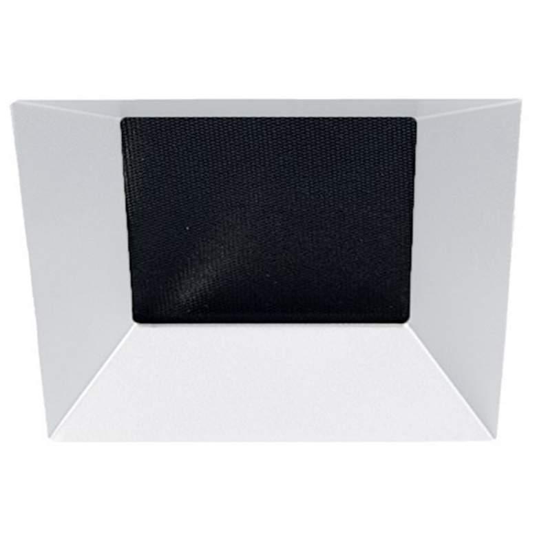 "Oculux Architectural 3 1/2"" Square White Reflector Downlight"