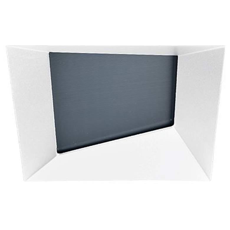 "Oculux Architectural 3 1/2"" Square White Wall Wash"
