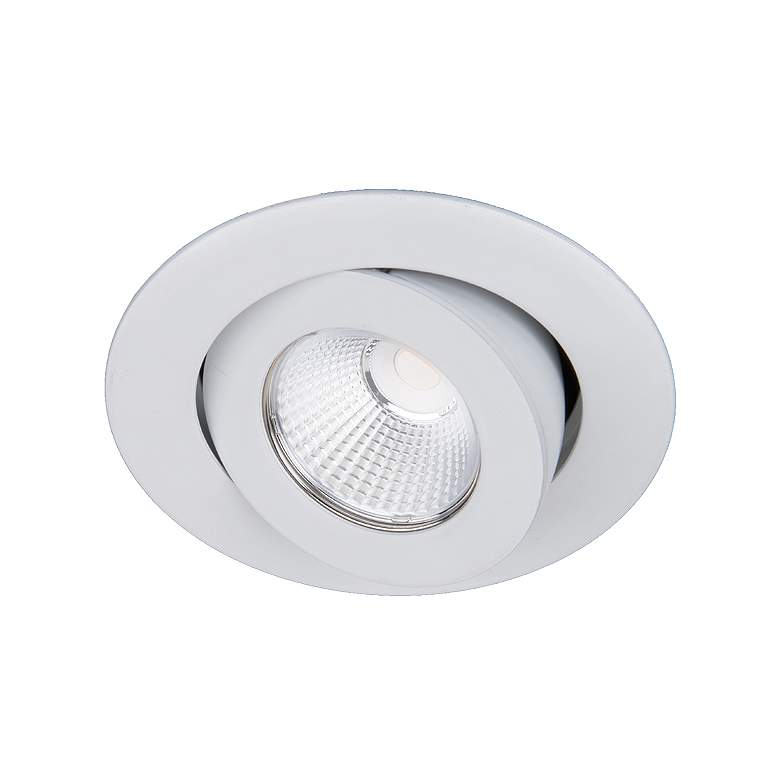 "Oculux Warm Dim 3 1/2"" Round White LED"