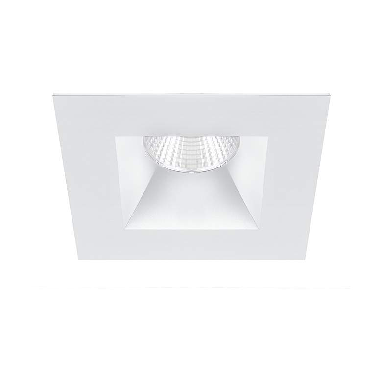 "Oculux Warm Dim 3 1/2"" Square White LED Reflector Downlight"