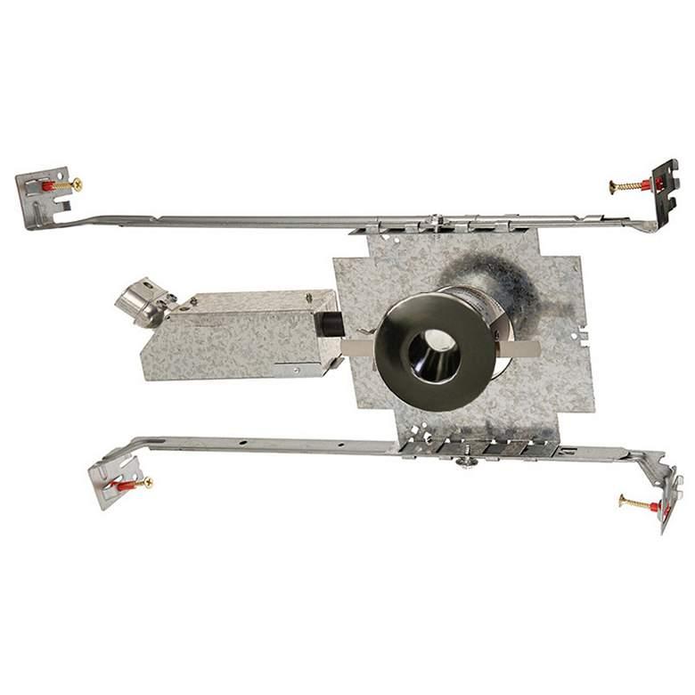 "WAC LEDme 1"" Round Gunmetal Mini Complete Recessed Kit"