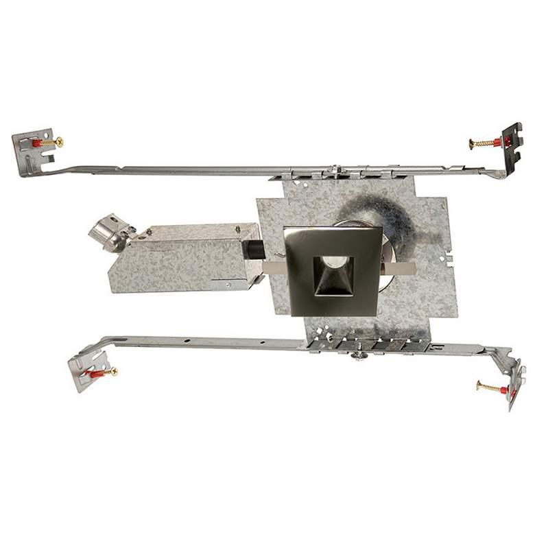 """WAC LEDme 1"""" Square Gunmetal Mini Complete Recessed Kit"""
