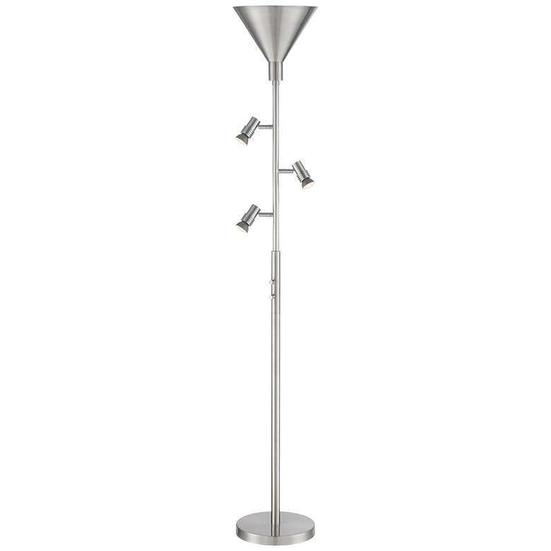 Possini Euro Orwell Torchiere LED Bullet Tree Floor Lamp