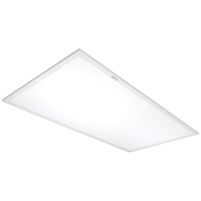 """Emergency 48"""" Wide White 4000K LED Flat Panel"""