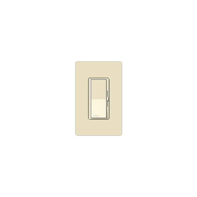 Lutron Diva Almond Single Pole Low Voltage Magnetic