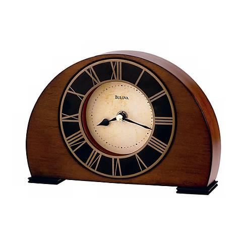 "Bulova Tremont 8 1/4"" Wide Tabletop Clock"