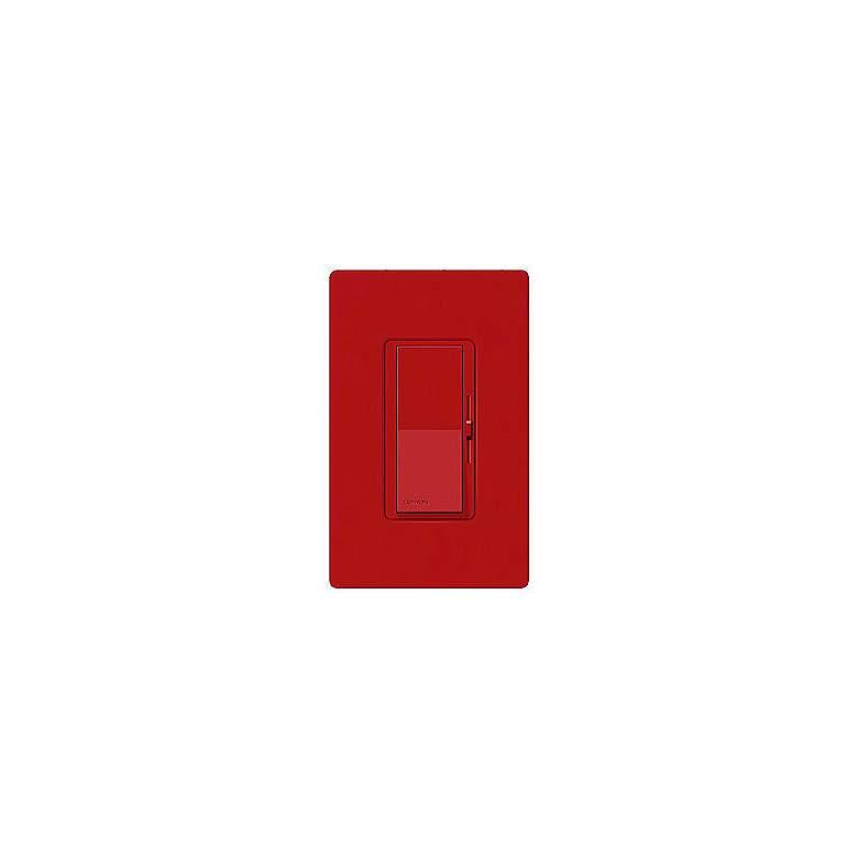 Lutron Diva SC 600W Single Pole Hot Red