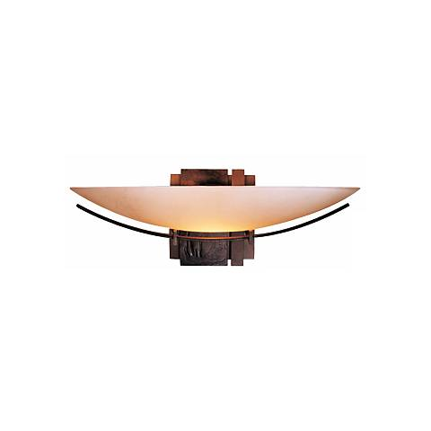"Hubbardton Forge Impressions 16 1/2"" Wide Wall Sconce"
