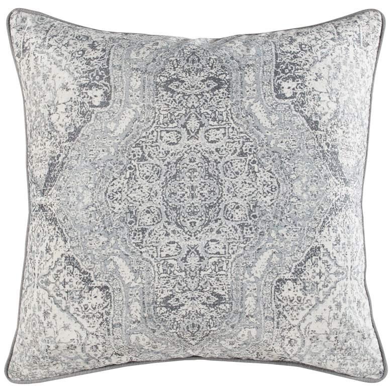 "Lexi Gray 22"" Square Decorative Pillow"