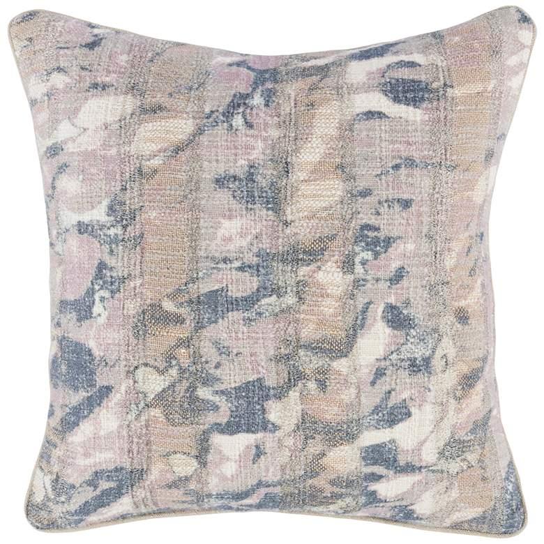 """Candace Lilac Multi-Color 18"""" Square Decorative Pillow"""