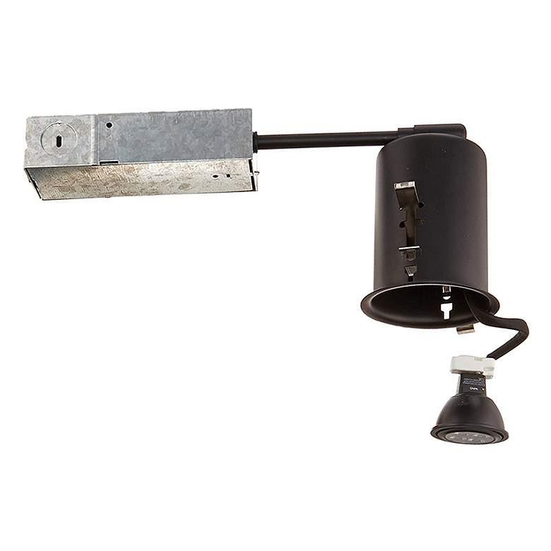 "WAC 2 1/2"" Black Non-IC Airtight Remodel LED Housing"