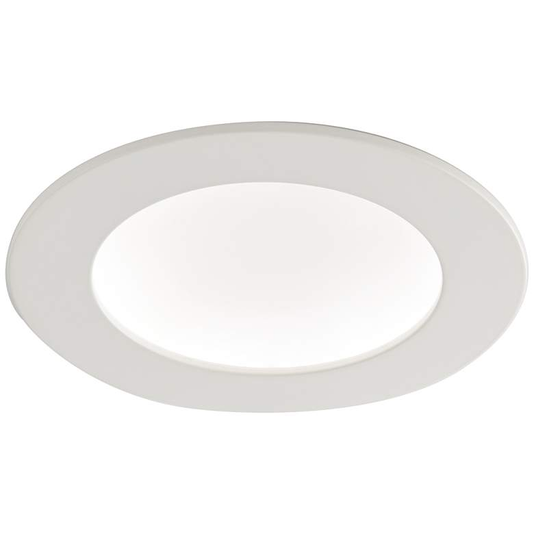"6"" White Retrofit 15 Watt Dimmable LED Recessed Downlight"