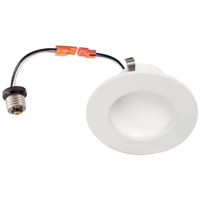 """4"""" White Retrofit 10W Dimmable LED Dome Recessed"""
