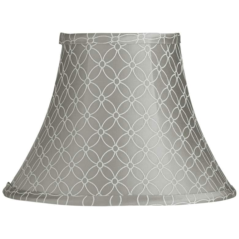 An Qing Gray Bell Lamp Shade 6x12x9 (Spider)