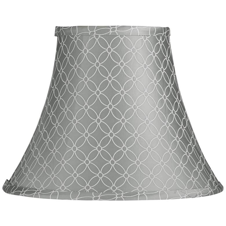 An Qing Gray Bell Lamp Shade 7x14x11 (Spider)