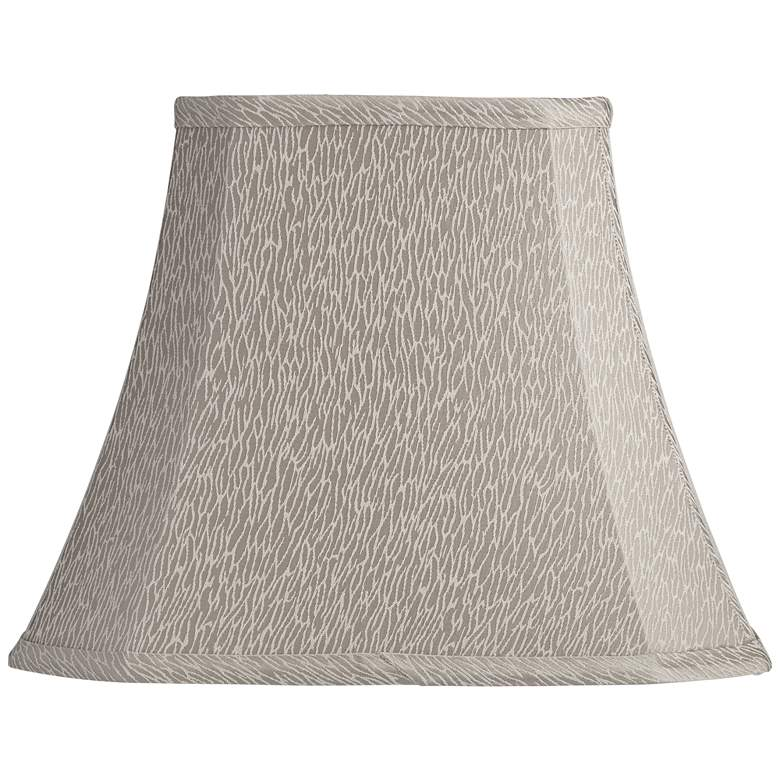 Lewes Khaki Rectangular Lamp Shade 5/8x10/14x11 (Spider)