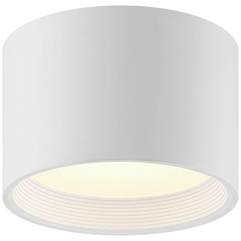 """Reel 8"""" Wide White LED Cylinder Ceiling Light"""