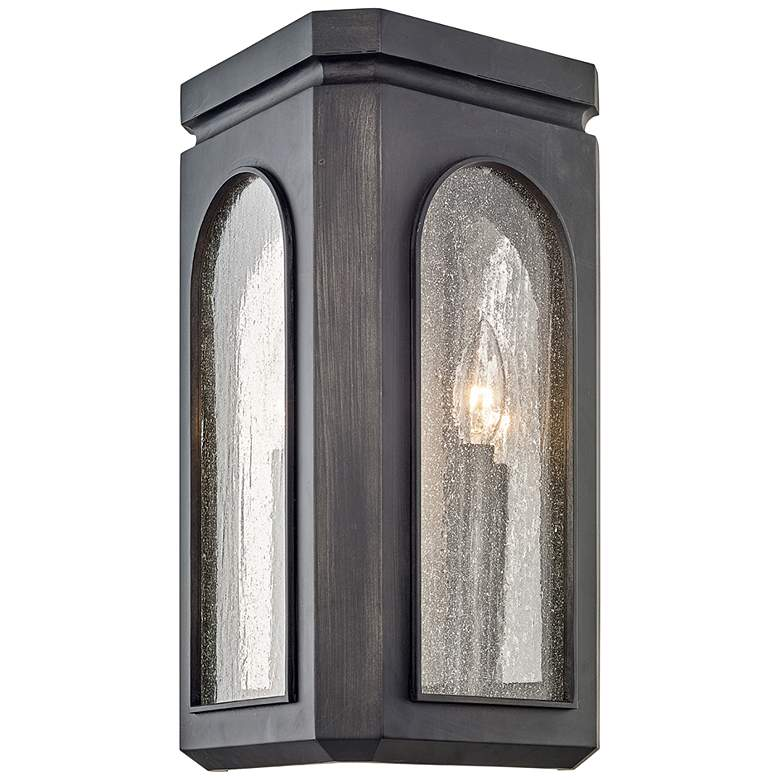 "Alton 17"" High Graphite Outdoor Wall Light"