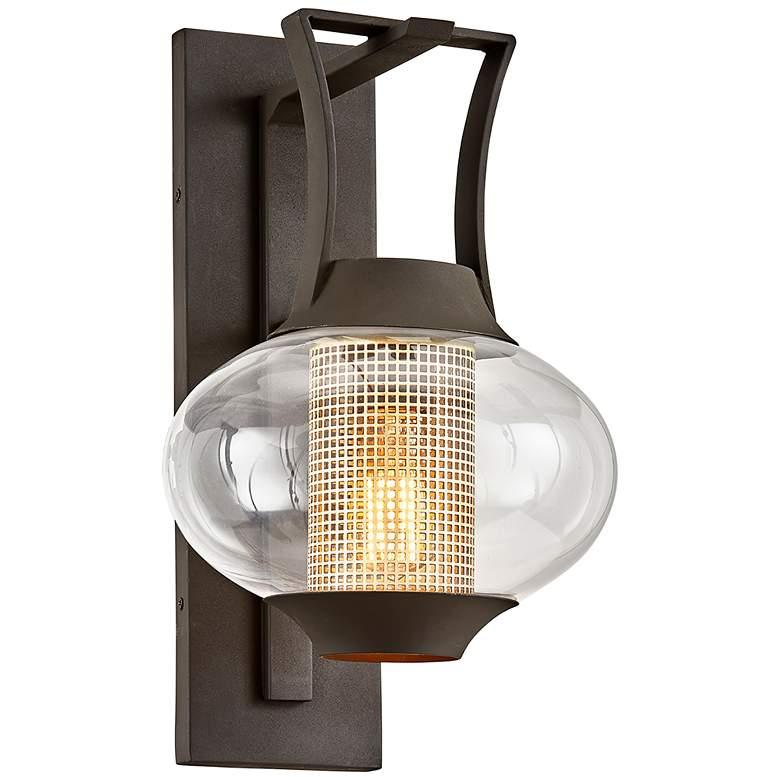 """Horton 18 1/2"""" High Texture Bronze Outdoor Wall Light"""