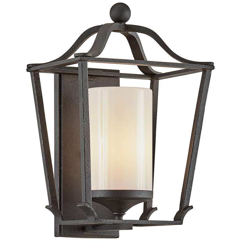 "Princeton 15"" High French Iron Outdoor Wall Light"