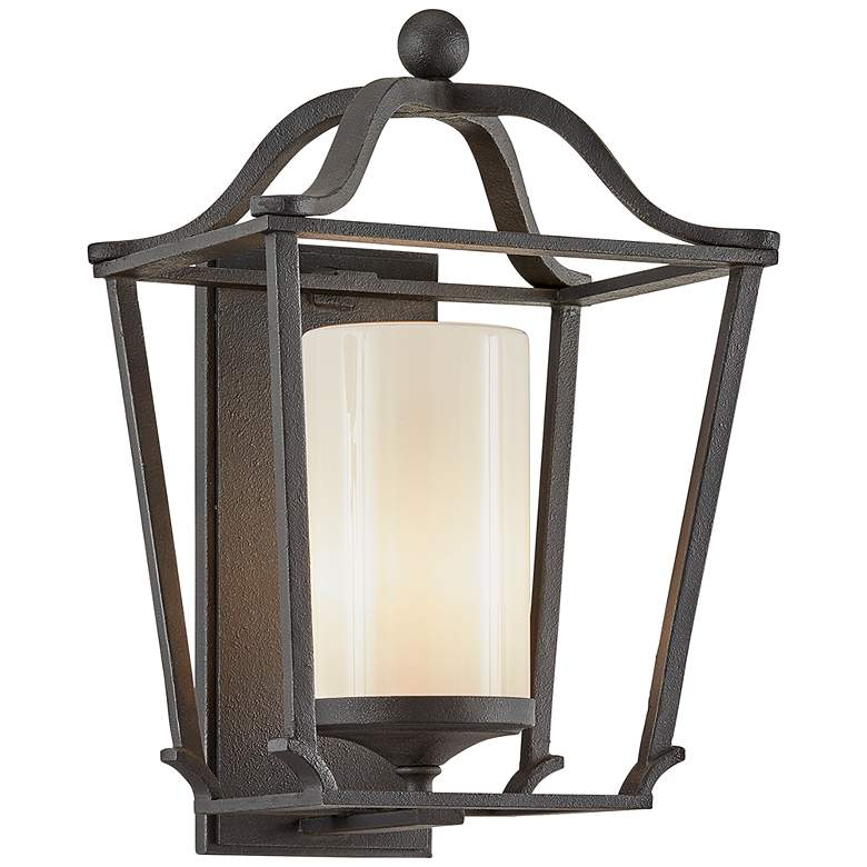 """Princeton 19 1/2"""" High French Iron Outdoor Wall Light"""