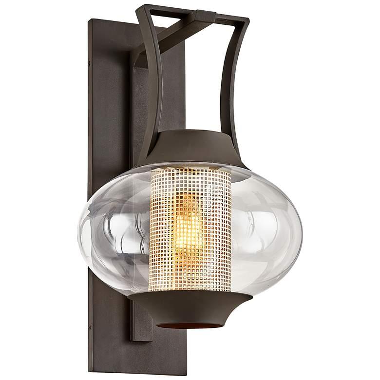 """Horton 23 3/4"""" High Texture Bronze Outdoor Wall Light"""
