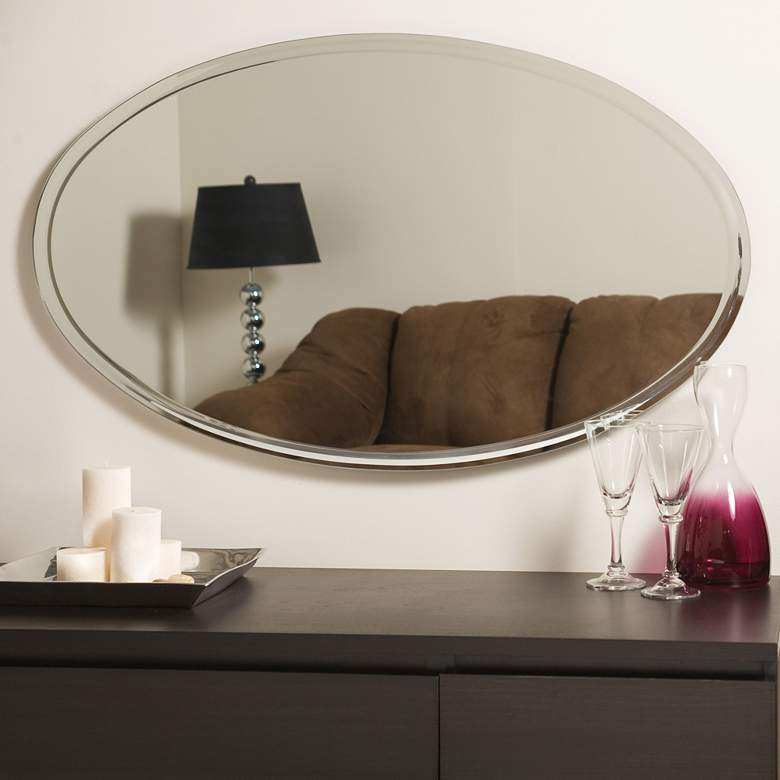 Oversized Wall Mirror