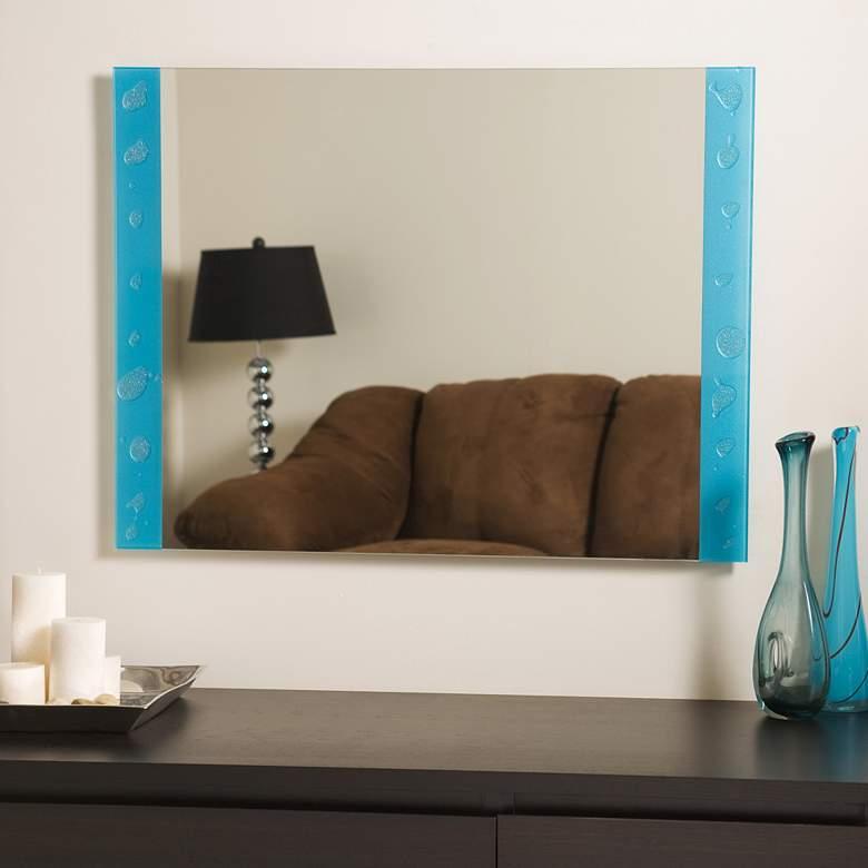 "The Spa 31 1/2"" x 23 1/2"" Frameless Bathroom Wall Mirror"